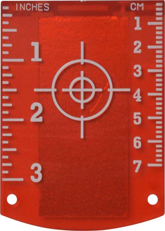 Magnetische doelplaat Rood