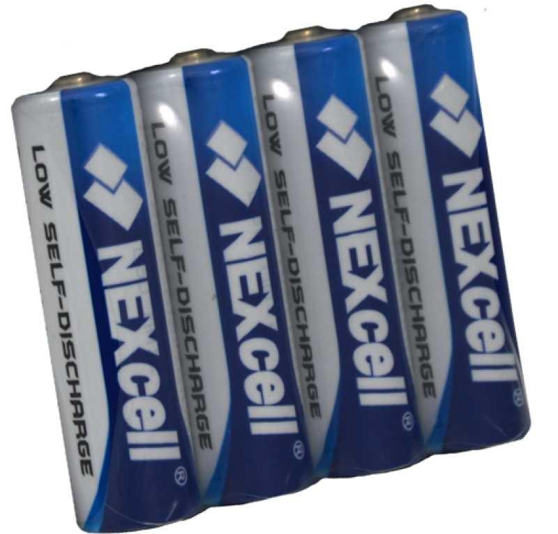 4 Oplaadbare batterijen