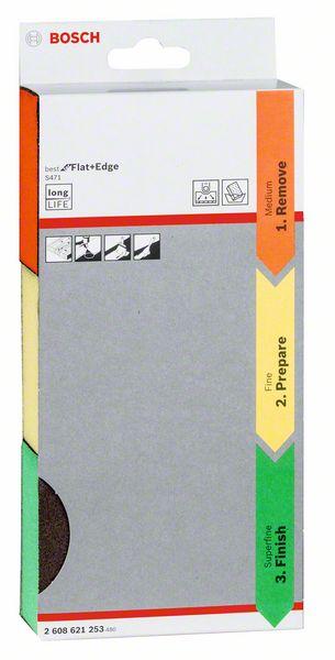 3-delige schuursponzenset S471, Best for Flats & Edges, 69 x