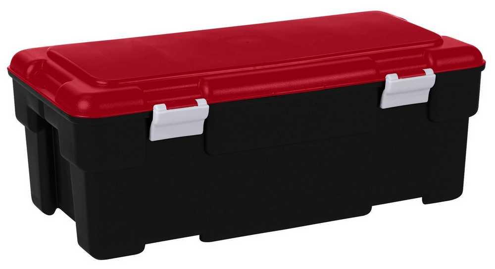voyager 65L zwart / rood