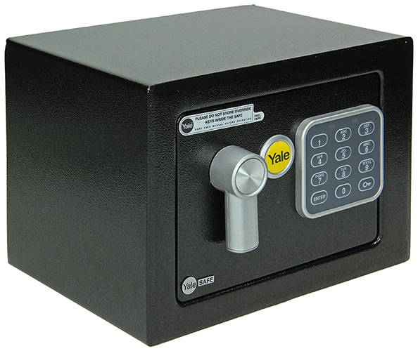 "YALE VALUE SAFE ""MINI"" ZWART"