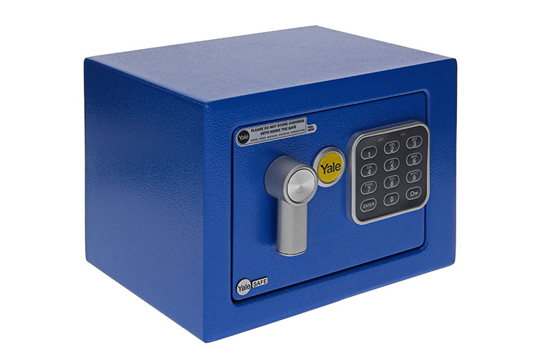 "YALE VALUE SAFE ""MINI"" BLAUW"