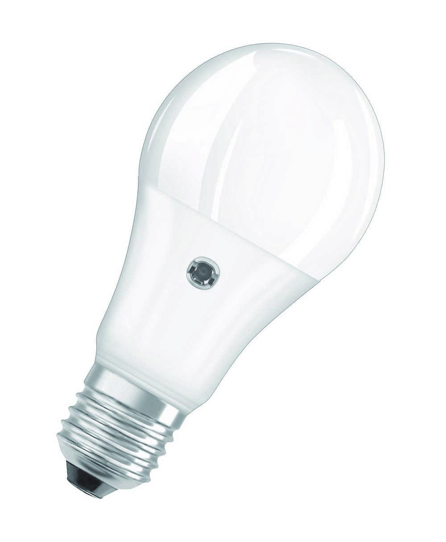 LED CLA60 DAYLIGHT SENSOR E27 WW