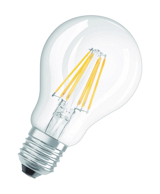 LED RETROFIT CLA60 E27 6W WW FIL