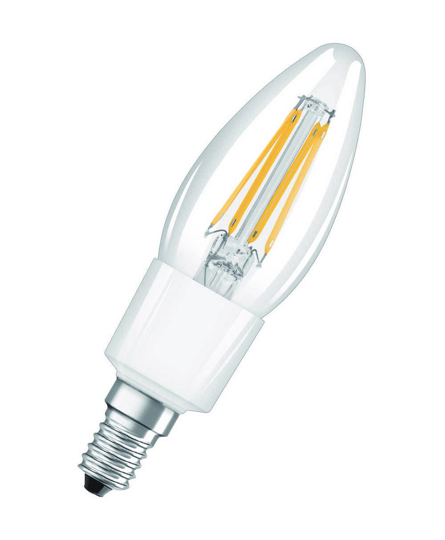 LED RETROF DIM CLB40 E14 4.5W WW FI