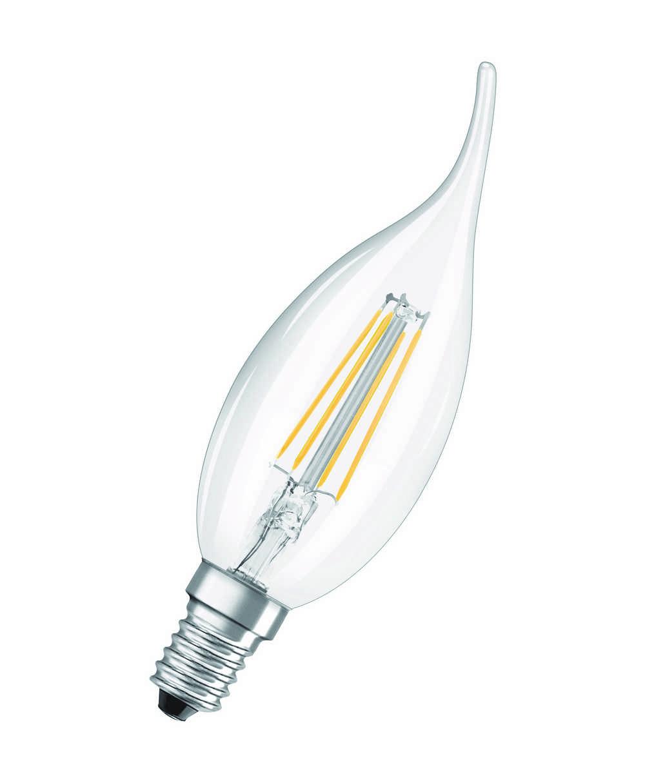 LED RETROF CLBA40 E14 4W WW FIL
