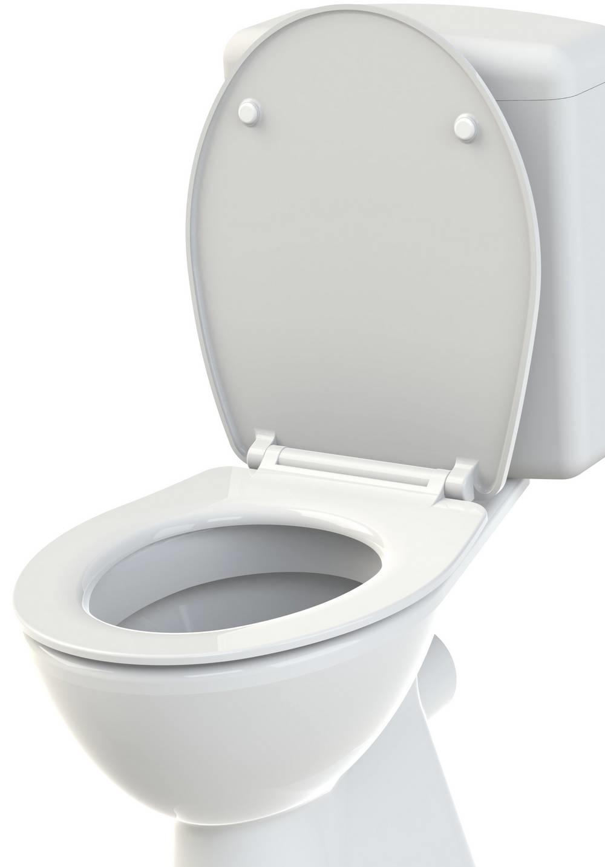 SLIMEO - WC-zitting - Glanzend Wit