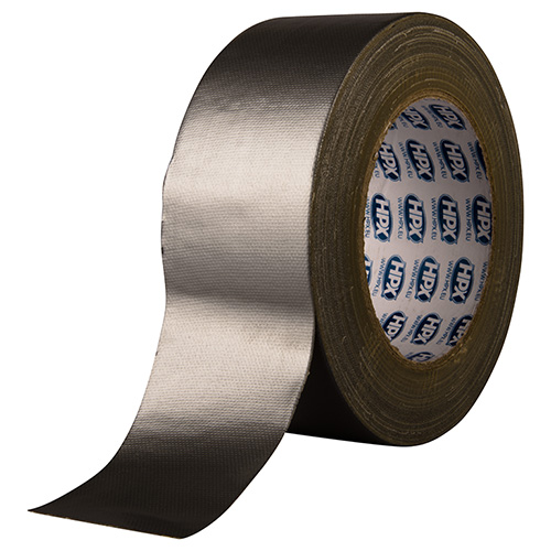 HPX ROL CLOTH TAPE ZILVER 48MM X 25M