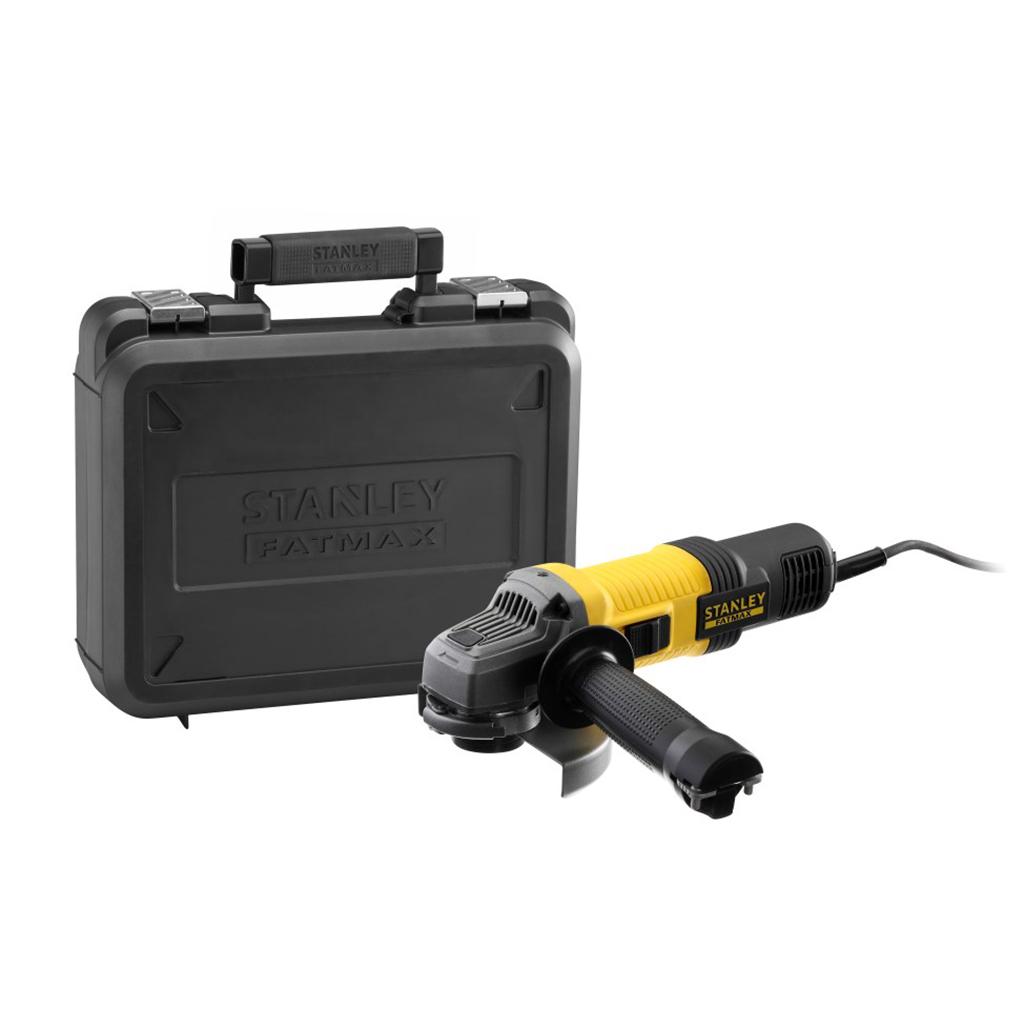 FMEG220K-QS 850W 125mm Haakse slijper met accessoires in kof