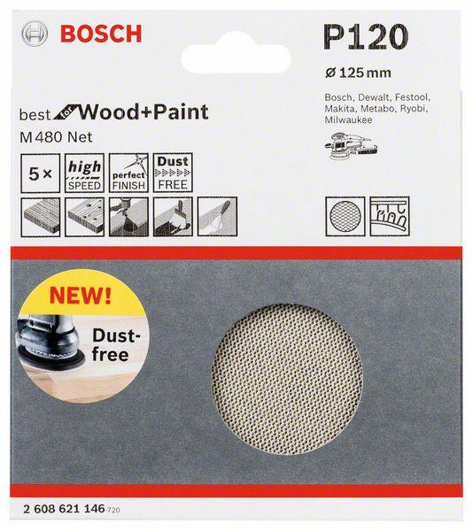 Schuurvel M480 Schuurnet Best for Wood and Paint, diameter 1