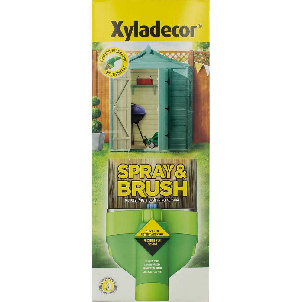 XYLADECOR SPRAY & BRUSH  1