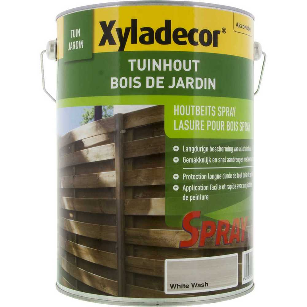 XY TUINHOUTBEITS SPRAY WHITE WASH - 5L