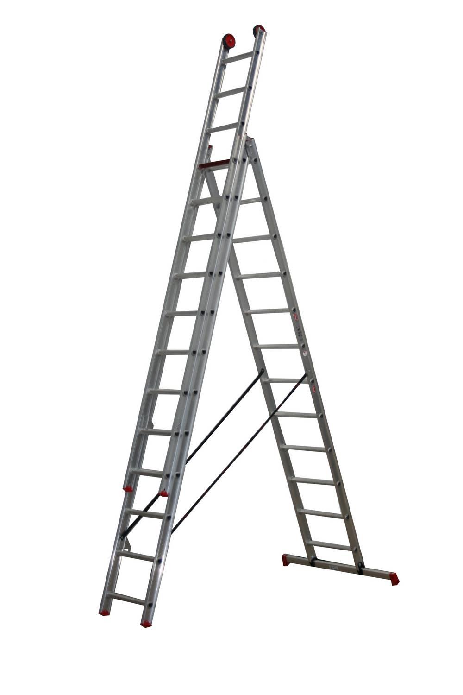 All Round 3-delige reformladder AR 3080 3 x 12