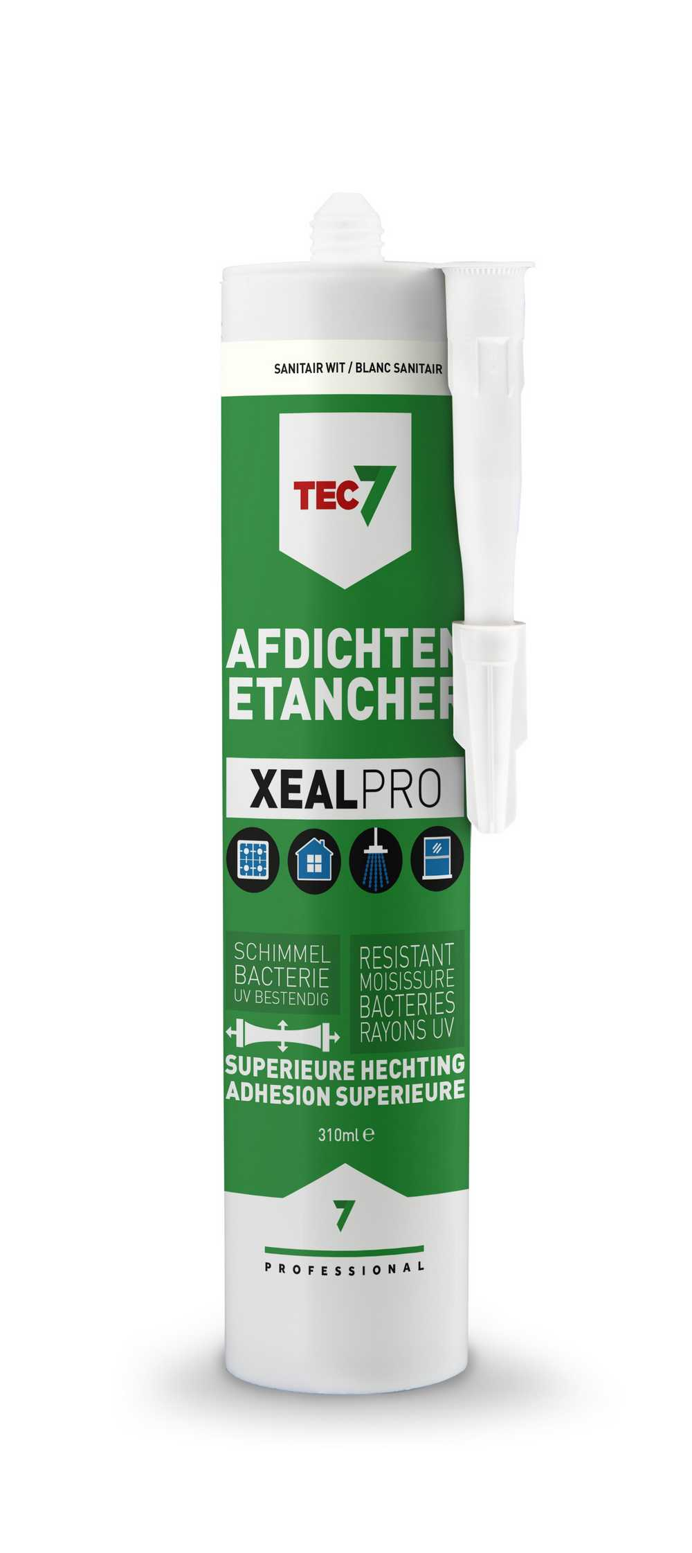 XealPro All-In-One afdichtings- en afwerkingskit sanitair wi