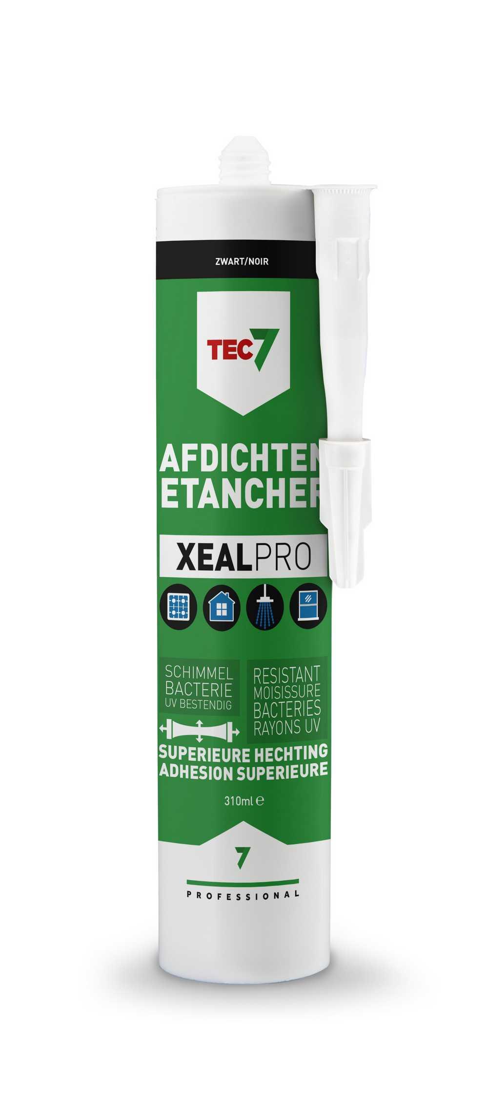 XealPro All-In-One afdichtings- en afwerkingskit zwart patro
