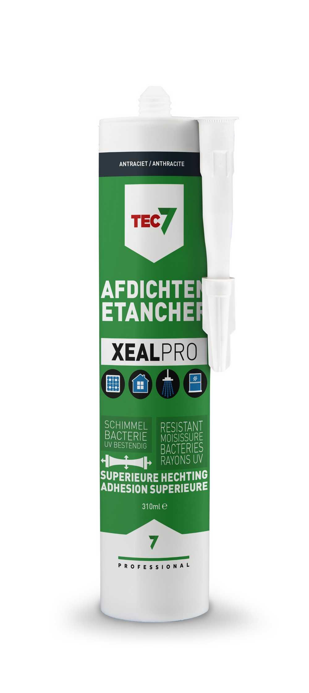 XealPro All-In-One afdichtings- en afwerkingskit antraciet p