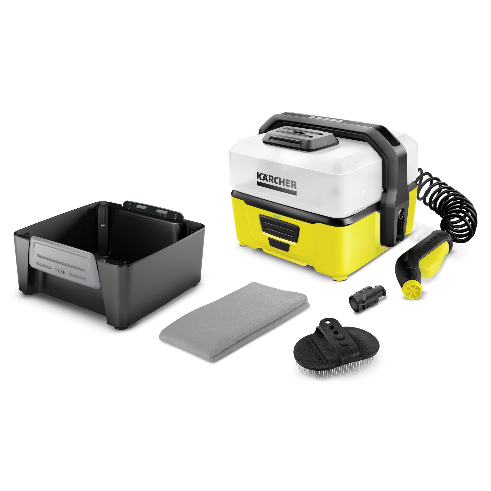 Mobile outdoor cleaner OC3 + Pet