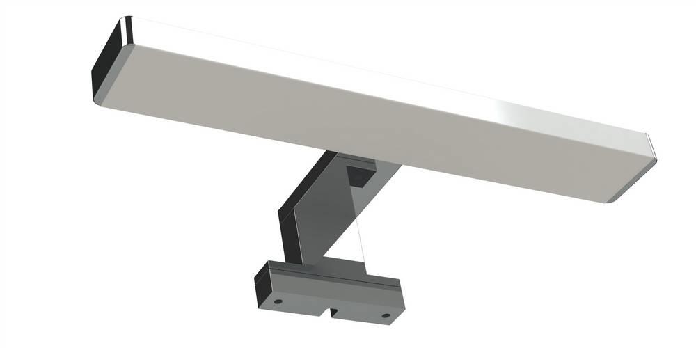 ORKA LED 6 W - 31 x 6,5 x 12,2 cm - Chroom glanzend
