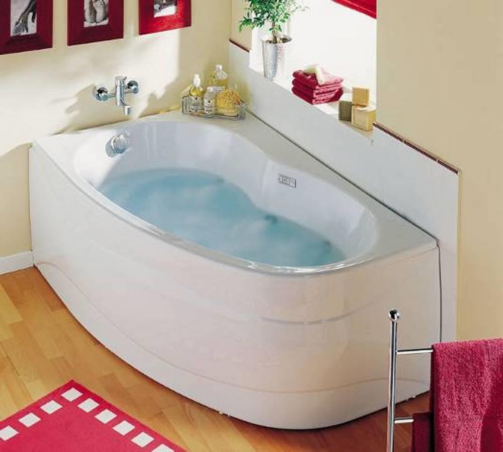 Whirlpoolbad ELBA DUO RECHTS + Mantel TWINZEN 2  160 x 100 x