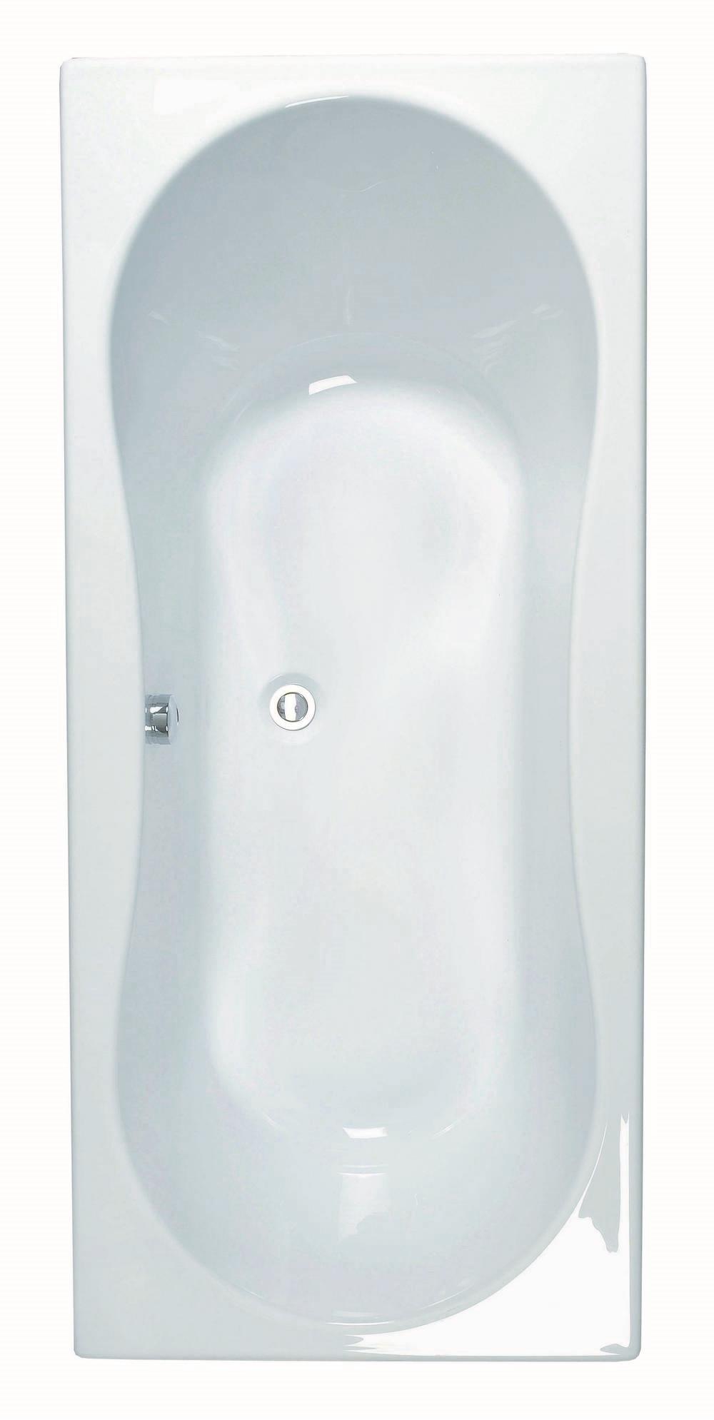 INOA Rechthoekig bad - 180x80