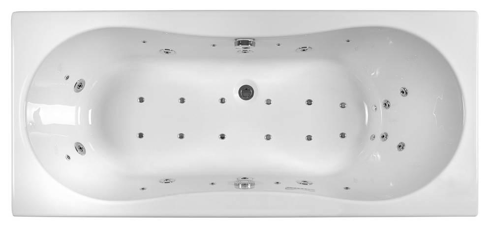 Whirlpoolbad INOA LUXZEN 2  180 x 80 x 53,5-56 cm