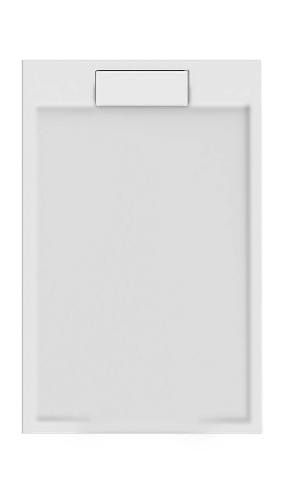 PURETEX Rechthoekig - 140 x 90 x 4,5 cm - Wit