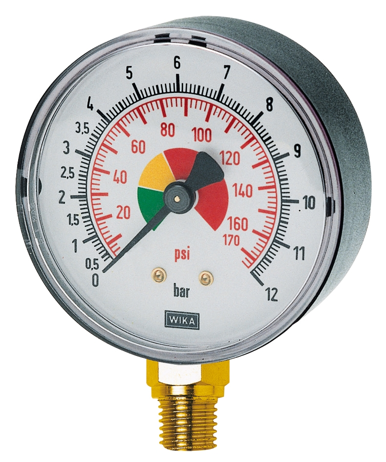 MANOMETER (std) VOOR BANDENBLAASPISTOOL