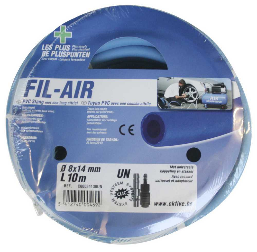 FIL-AIR SLANG L.15m 8x14mm + UN KOP.