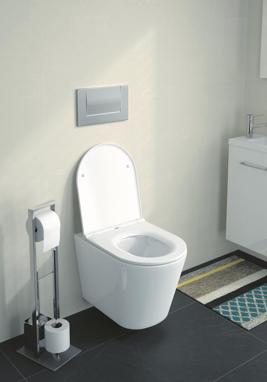DUNEO - WC-zitting - Glanzend Wit