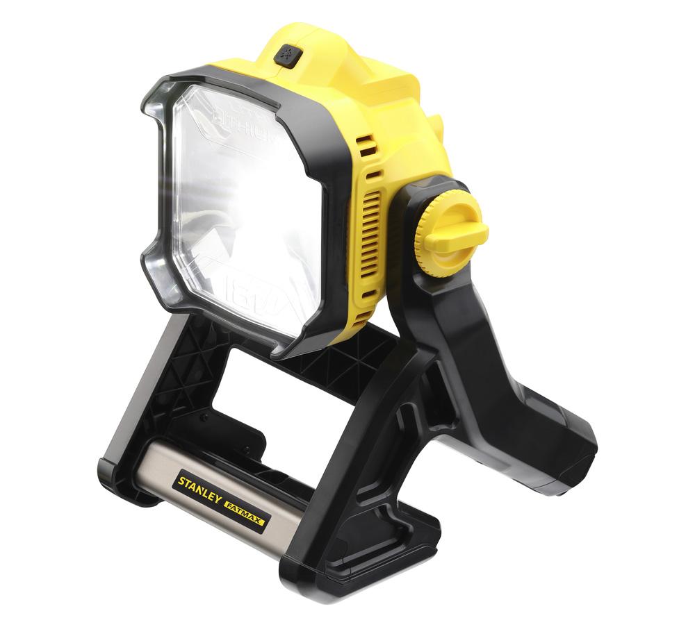 18V Werklamp op accu, geleverd zonder accu en lader18V accu