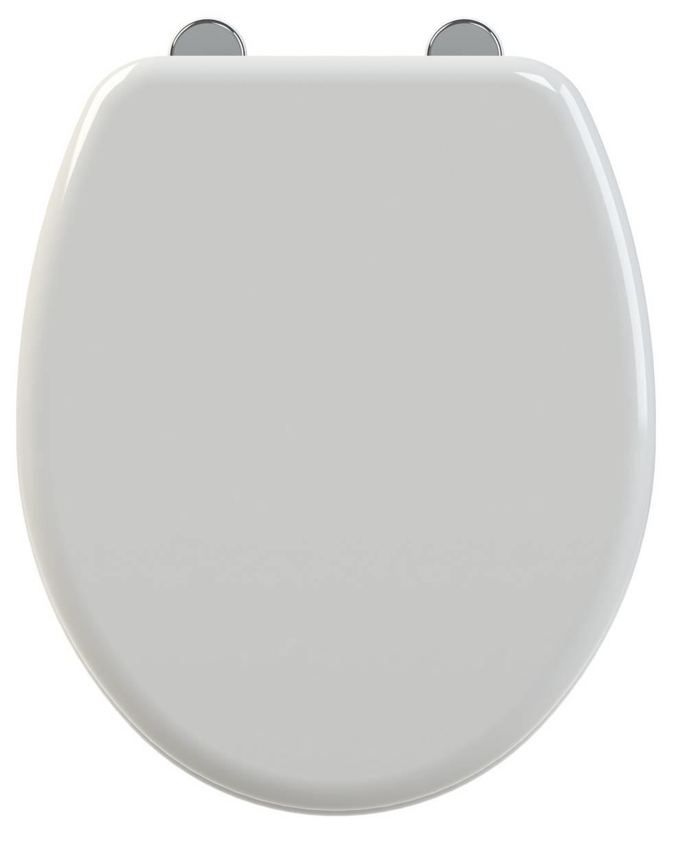 SIMERO - WC-zitting - Glanzend Wit
