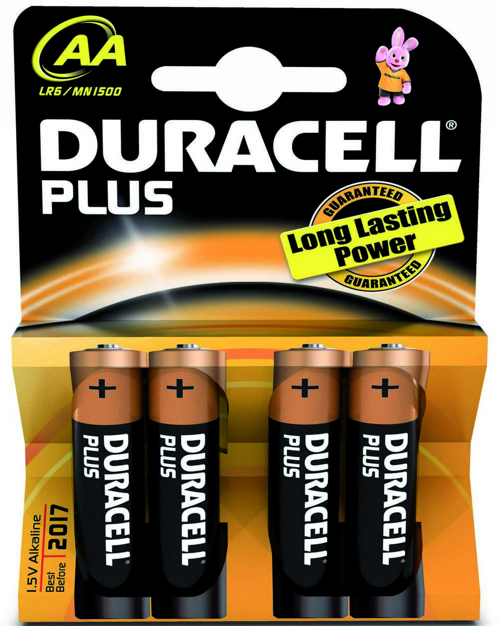 Batterij Alk Plus Power Aa 1.5v 4x