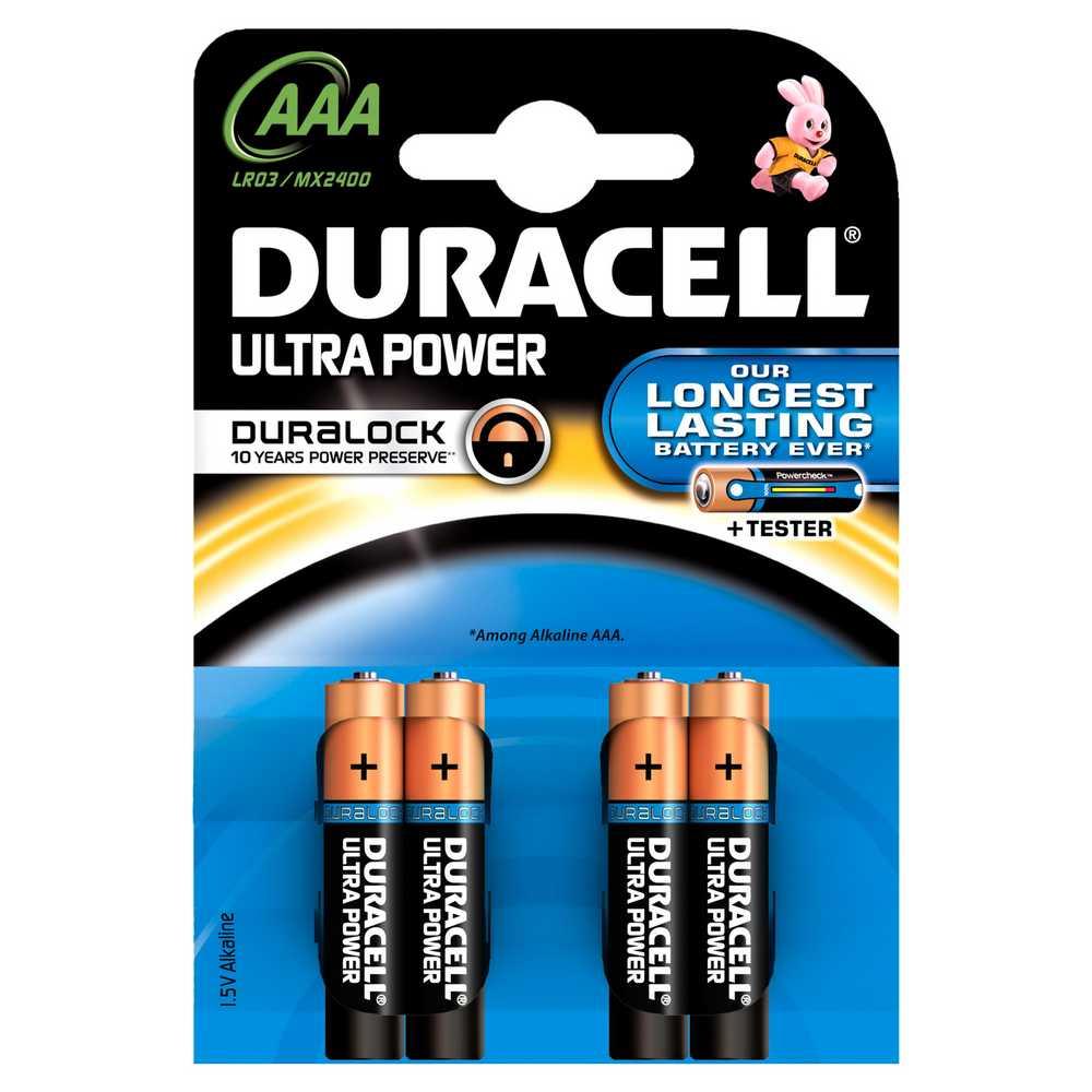Batterij Alk Ultrapower Aaa 1.5v 4x