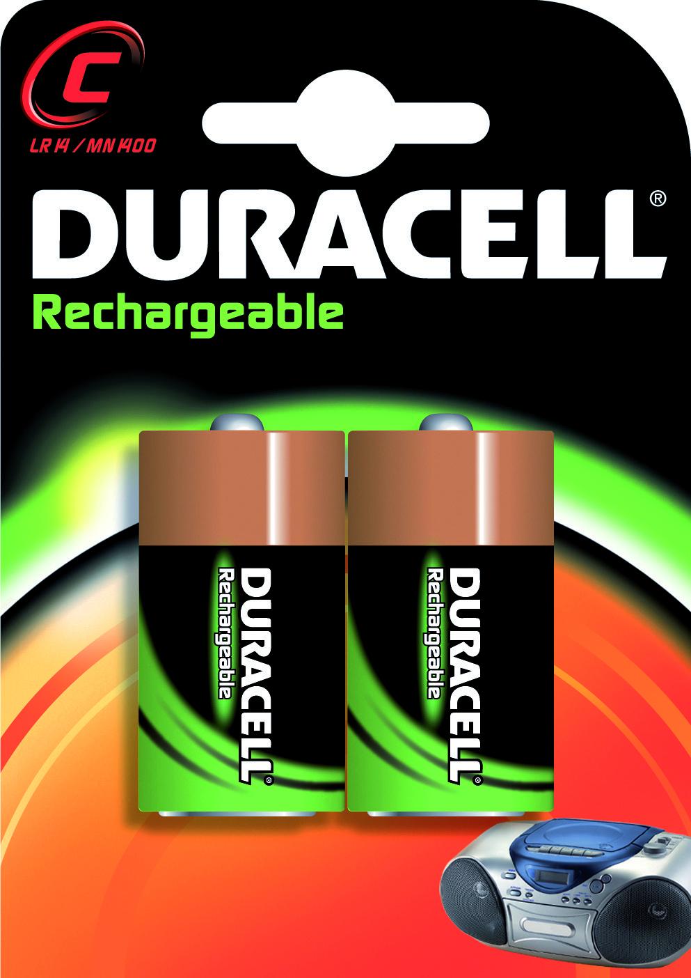 Batterij Ni-mh C 1.5v 2200mah 2x