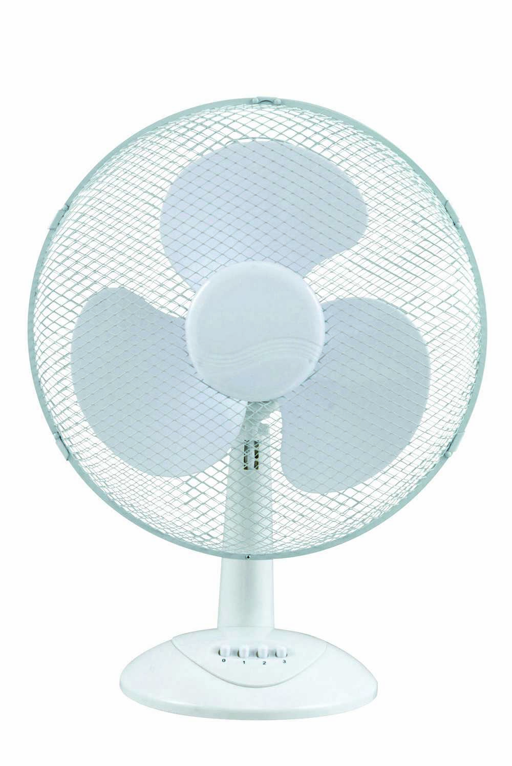 Ventilator Tafel 40cm 3snel Wit
