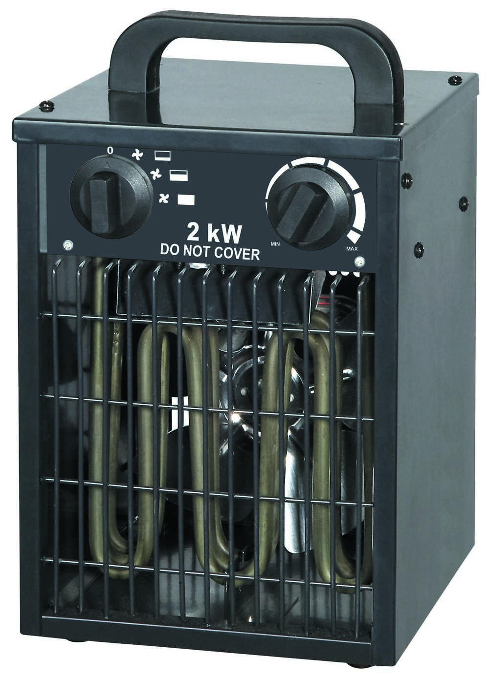 Industriele Blaasradiator 2000w Zw