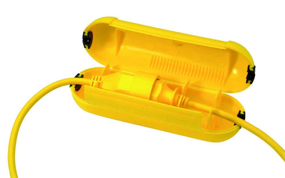 Stekker Safebox PR99 Geel