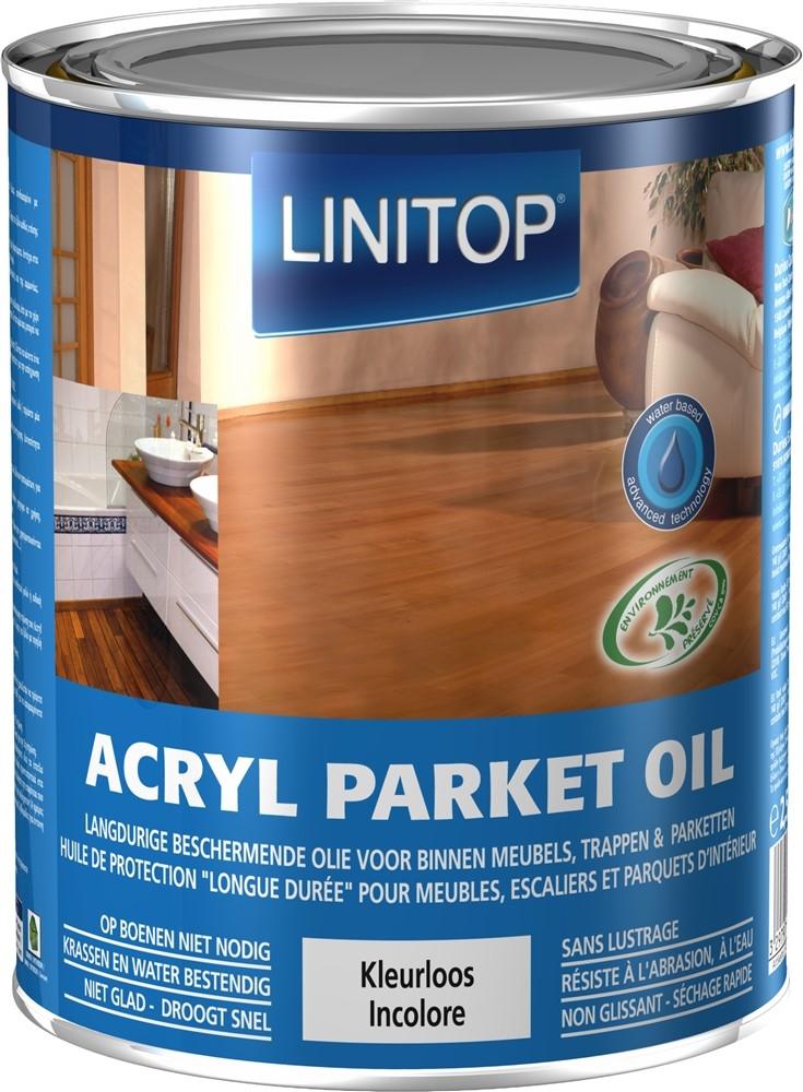 ACRYL PARKET OIL 2,5L S Kleurloos