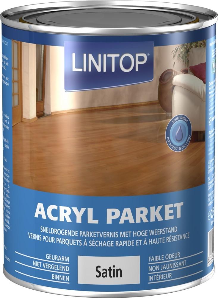 ACRYL PARKET SATIN 2,5L S Zijdeglans