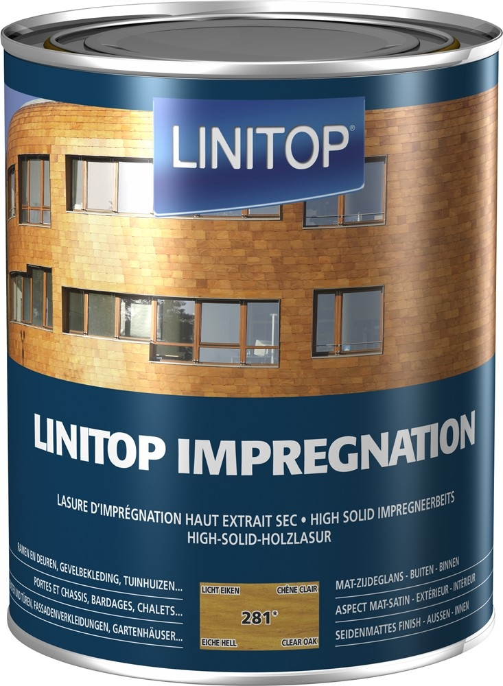 LINITOP IMPREGNATION 2,5LL 281 LICHTE EIK