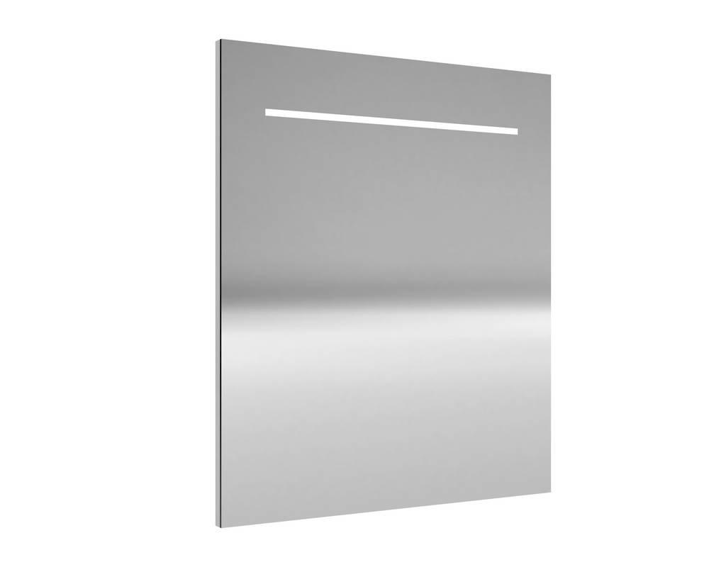 DELI Spiegel met verlichting 60 cm Aluminium