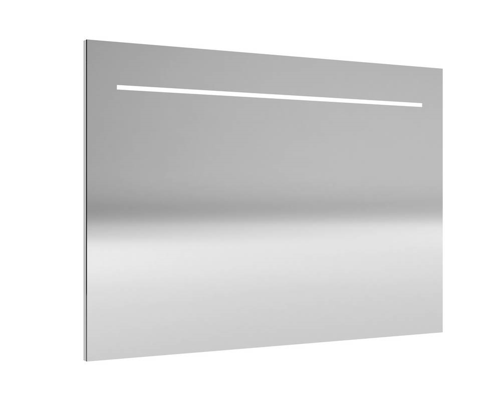 DELI Spiegel met verlichting 100 cm Aluminium