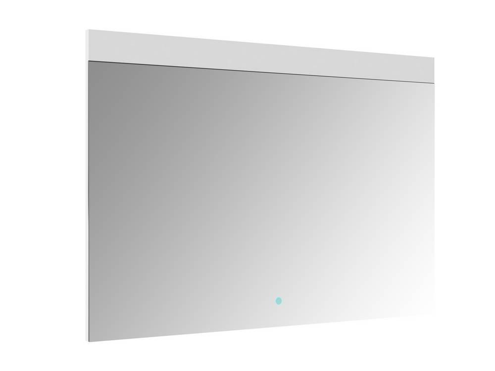 REI Spiegel met verlichting 100 cm met sensor Aluminium
