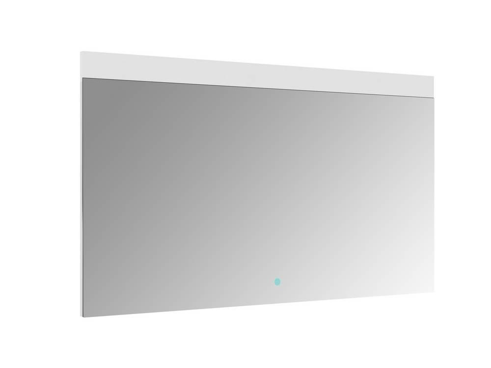 REI Spiegel met verlichting 120 cm met sensor Aluminium