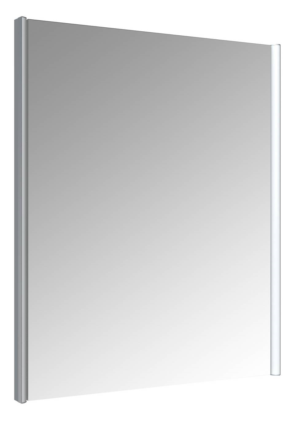 IKARI Spiegel met verlichting 60 cm Aluminium