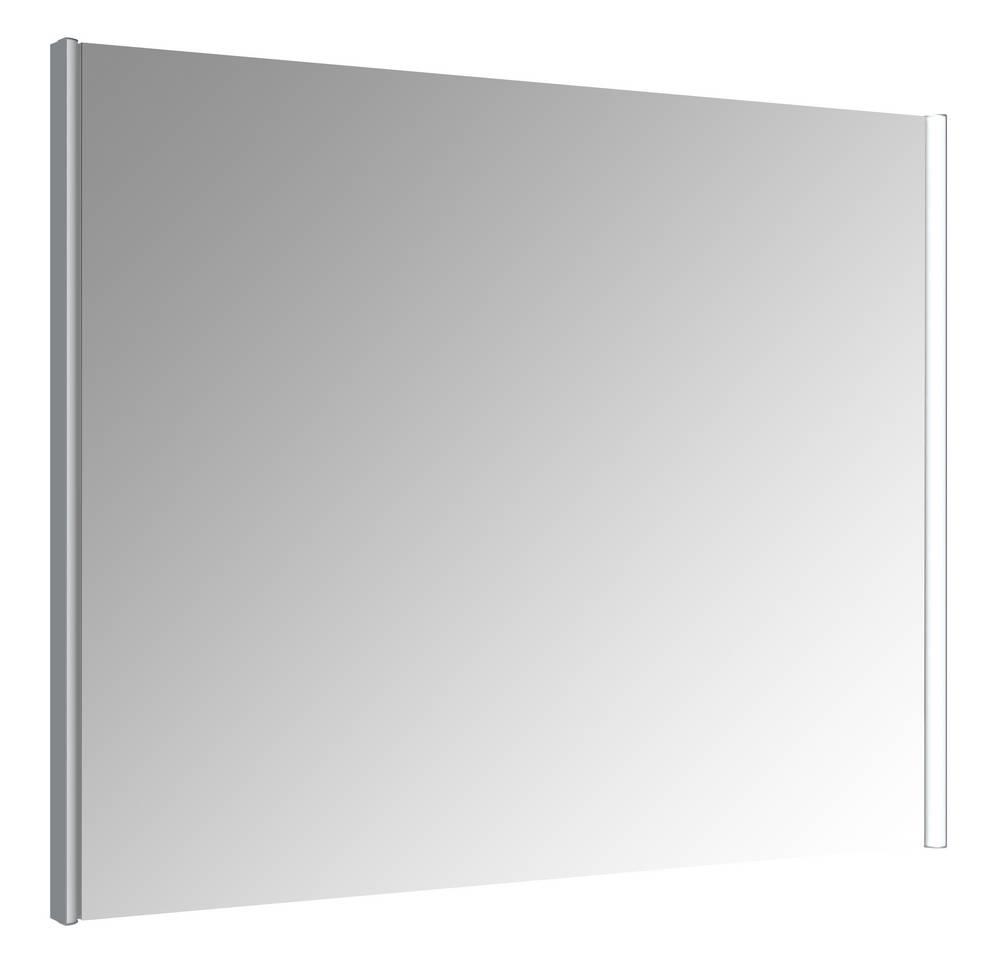IKARI Spiegel met verlichting 90 cm Aluminium