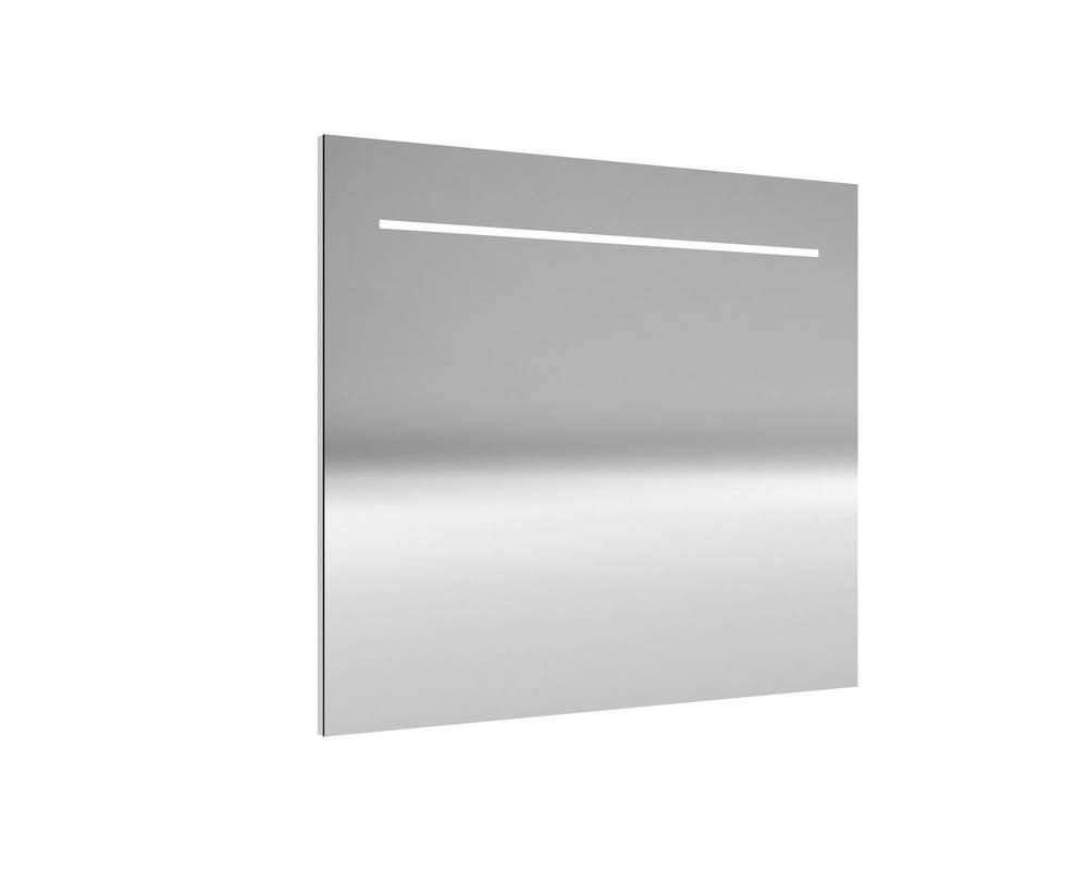 DELI Spiegel met verlichting 90 cm Aluminium