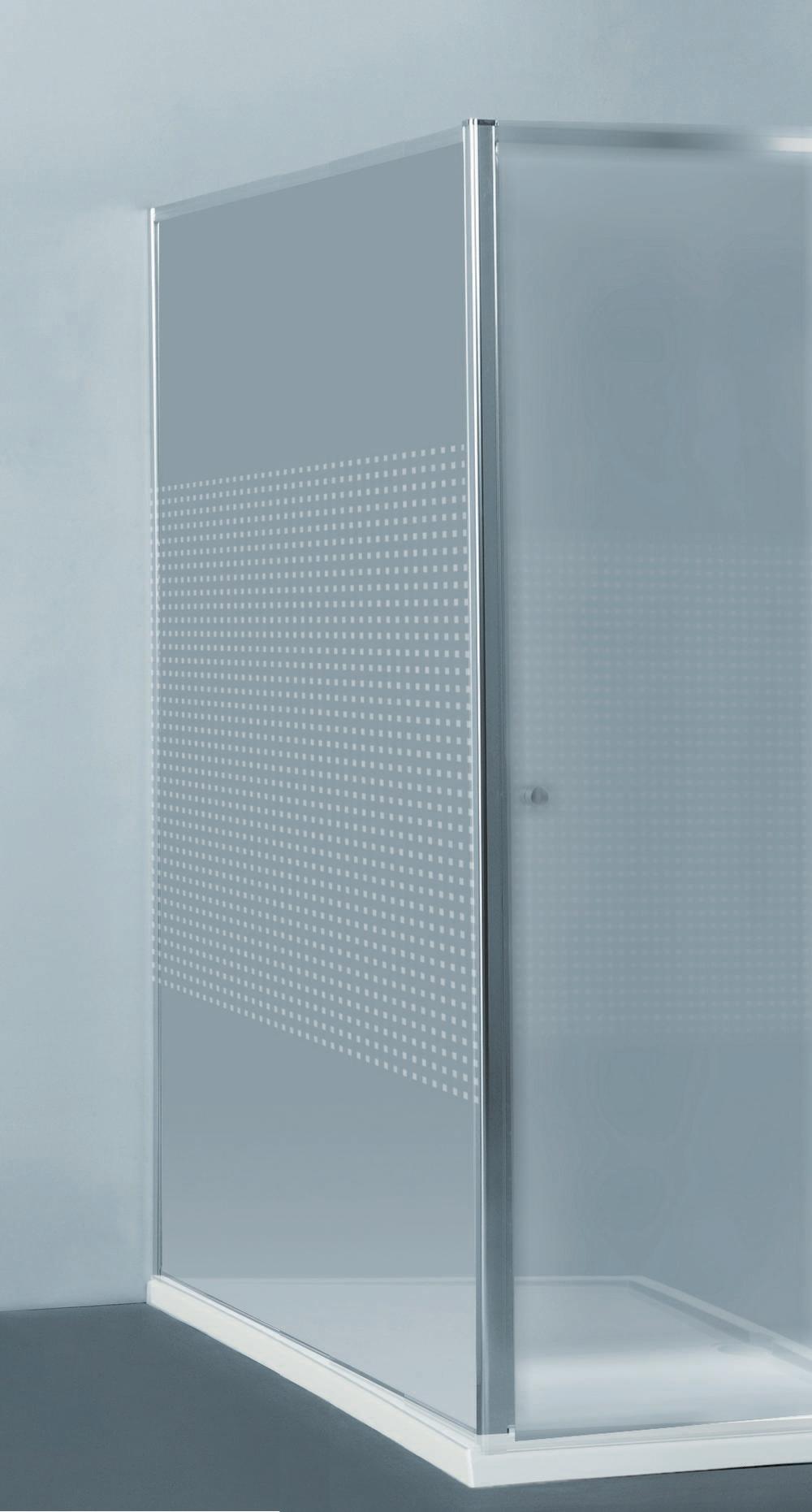 PRIVA vaste wand  - 118-120 x 190 cm -Kleine vierkantjes