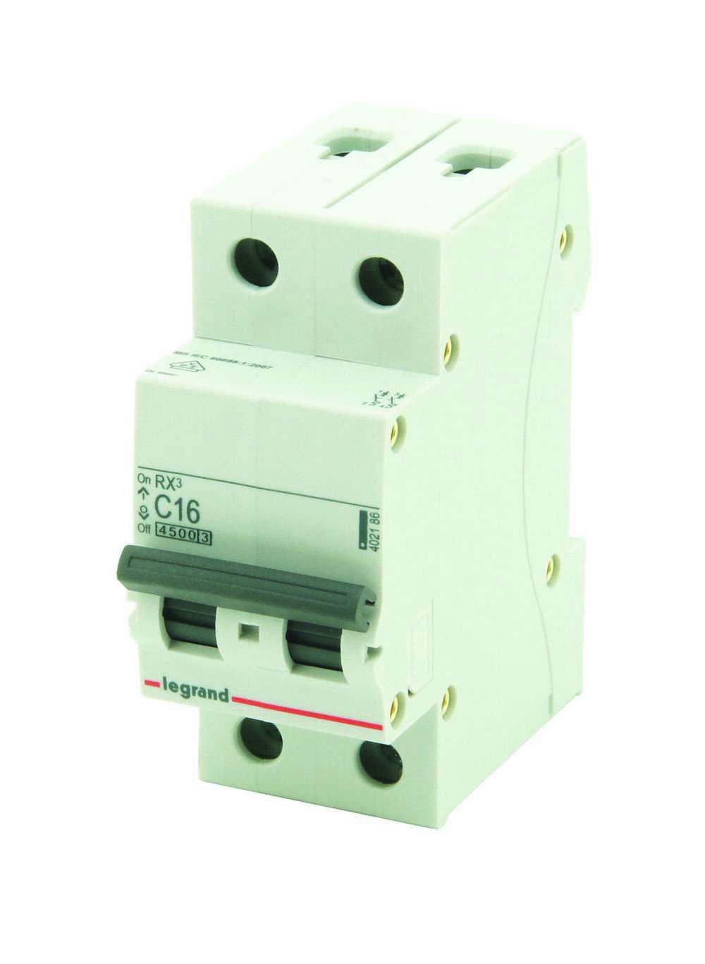 Sokkelautomaat Rx3 2p 4500a C16