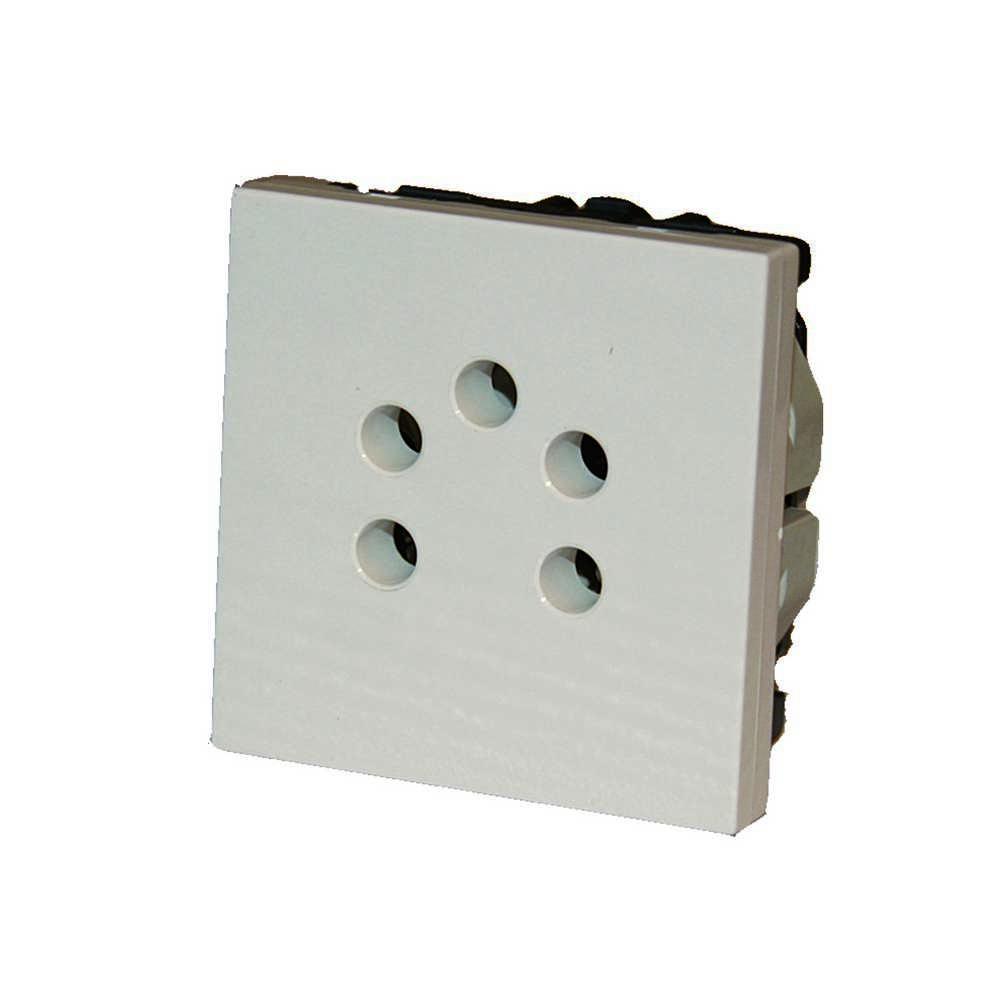 Mosaic Stopcontact Belga 4cont 2mod